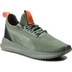 Buty PUMA - Avid Fof 366916 01 L.Wreath/P.Blk/Sh.Orange. Zielone buty fitness męskie Puma, z materiału. W wyprzedaży za 339,00 zł.