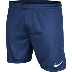 Spodenki i szorty męskie: Nike Spodenki męskie Park Boys  granatowe r. XL