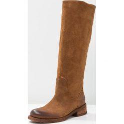 Felmini HARDY Kowbojki i obuwie motocyklowe brown. Brązowe buty zimowe damskie Felmini, z materiału. Za 619,00 zł.