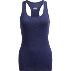 Top damski TSD600B - denim melanż - Outhorn. Niebieskie topy sportowe damskie Outhorn, melanż, z bawełny. W wyprzedaży za 19,99 zł.
