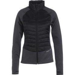 O'Neill XKINETIC FULL ZIP Kurtka z polaru black out. Czarne kurtki sportowe męskie marki O'Neill, xl, z materiału. W wyprzedaży za 407,20 zł.