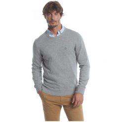 Polo Club C.H..A Sweter Męski M Szary. Niebieskie swetry klasyczne męskie marki Oakley, na lato, z bawełny, eleganckie. W wyprzedaży za 239,00 zł.