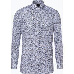 Joop - Koszula męska łatwa w prasowaniu – Panko, czarny. Szare koszule męskie na spinki marki JOOP!, z bawełny, z klasycznym kołnierzykiem, z długim rękawem. Za 349,95 zł.