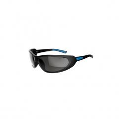 Okulary przeciwsłoneczne MH 510 kategoria 4. Czarne okulary przeciwsłoneczne damskie lenonki QUECHUA, z gumy. Za 59,99 zł.