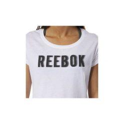 T-shirty z krótkim rękawem Reebok Sport  Koszulka Motion. Białe bluzki sportowe damskie Reebok Sport, s, z krótkim rękawem. Za 99,95 zł.