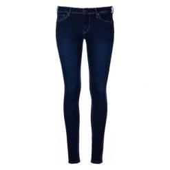 Pepe Jeans Jeansy Damskie Lola 30/30 Ciemny Niebieski. Niebieskie jeansy damskie slim marki Pepe Jeans, z jeansu. W wyprzedaży za 339,00 zł.