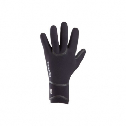 Rękawiczki surfing z neoprenu 3 mm. Czarne rękawiczki męskie OLAIAN, z materiału. Za 79,99 zł.