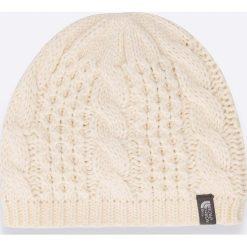 The North Face - Czapka. Szare czapki zimowe damskie marki The North Face, na zimę, z dzianiny. W wyprzedaży za 89,90 zł.