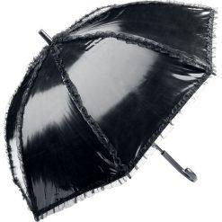 Parasole: Gothicana by EMP Varnish Umbrella Parasol przeciwsłoneczny czarny