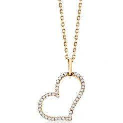 PROMOCJA Złoty Wisiorek - złoto żółte 333, Diament 0,10ct. Szare łańcuszki męskie marki W.KRUK, srebrne. W wyprzedaży za 339,00 zł.