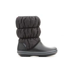 Śniegowce Crocs  Winter Puff Boot Women Black 14614-070. Różowe buty zimowe damskie marki Crocs, z materiału. Za 201,30 zł.