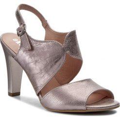 Rzymianki damskie: Sandały EKSBUT – 37-4585-H56-1G Róż Lic.