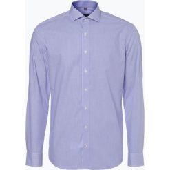 Koszule męskie na spinki: Eterna Slim Fit – Koszula męska niewymagająca prasowania, lila