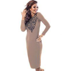 Odzież damska: Sukienka Enny w kolorze beżowym