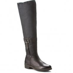 Oficerki CAMEL ACTIVE - Modena 780.73.01 Black. Czarne buty zimowe damskie Camel Active, z materiału, przed kolano, na wysokim obcasie, na obcasie. W wyprzedaży za 399,00 zł.