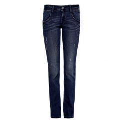 S.Oliver Jeansy Damskie 38/32 Niebieski. Niebieskie jeansy damskie slim S.Oliver, z jeansu. Za 359,00 zł.