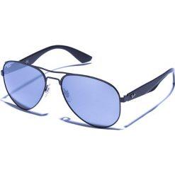 Okulary przeciwsłoneczne męskie: Okulary męskie w kolorze czarnym
