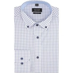 Koszule męskie: koszula bexley 2018 długi rękaw slim fit niebieski