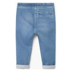 Jeansy dziewczęce: Mango Kids – Jeansy dziecięce 80-98 cm