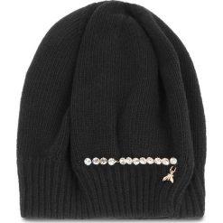 Czapka PATRIZIA PEPE - 2V8388/A3IP-I2XH  Black/Shiny Crystal. Czarne czapki zimowe damskie marki Patrizia Pepe, z kaszmiru. Za 289,00 zł.