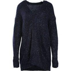 Swetry damskie: Granatowy Kardigan Process