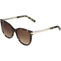 Okulary przeciwsłoneczne damskie aviatory: KARL LAGERFELD Okulary przeciwsłoneczne brown