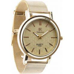 Złoty Zegarek Office Custom. Żółte zegarki damskie Born2be, złote. Za 24,99 zł.