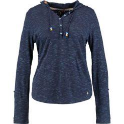 Bluzki asymetryczne: Ragwear Plus DROP PLUS Bluzka z długim rękawem navy