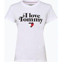 Tommy Jeans - T-shirt damski, czarny. Czarne t-shirty damskie marki Tommy Jeans, l, z dżerseju. Za 159,95 zł.