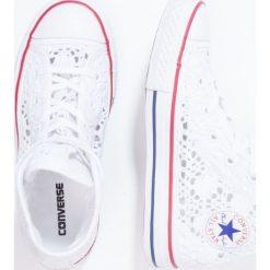 Converse CHUCK TAYLOR ALL STAR Tenisówki i Trampki wysokie white/red/blue. Białe trampki dziewczęce Converse, z materiału, retro. W wyprzedaży za 237,30 zł.