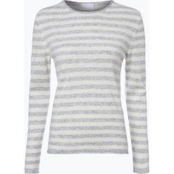 Marie Lund - Sweter damski z czystego kaszmiru, szary. Szare swetry klasyczne damskie Marie Lund, xxl, z dzianiny. Za 449,95 zł.