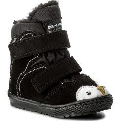 Śniegowce MRUGAŁA - Mali 7151-90 Nabu. Czarne buty zimowe chłopięce Mrugała, z materiału. W wyprzedaży za 149,00 zł.