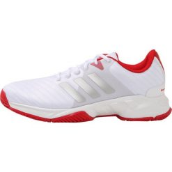 Buty do tenisa męskie: adidas Performance BARRICADE COURT 3 Obuwie multicourt white/silver/scarle