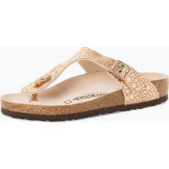 Birkenstock - Sandały damskie z dodatkiem skóry, różowy. Szare sandały damskie marki Birkenstock, z materiału. Za 199,95 zł.