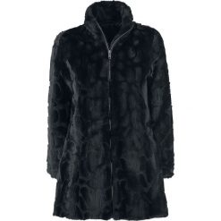 Forplay Fake fur Coat Płaszcz damski czarny. Czarne płaszcze damskie pastelowe Forplay, xxl. Za 324,90 zł.