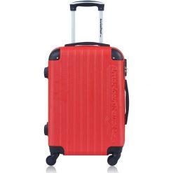 """Walizki: Walizka """"Budapest"""" w kolorze czerwonym – 40,5 kg x 60 x 31 cm"""
