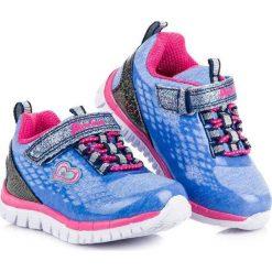 Wiązane buty sportowe american American Club niebieskie. Niebieskie buciki niemowlęce American CLUB. Za 89,90 zł.