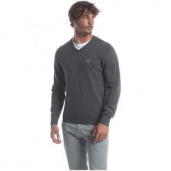 Polo Club C.H..A Sweter Męski M Ciemnoszary. Szare swetry klasyczne męskie marki Polo Club C.H..A, m, dekolt w kształcie v. W wyprzedaży za 259,00 zł.