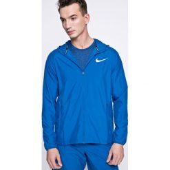 Nike - Kurtka. Niebieskie kurtki męskie przejściowe Nike, l, z poliesteru, z kapturem. W wyprzedaży za 199,90 zł.