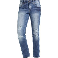 Only & Sons ONSLOOM Jeansy Slim Fit dark blue denim. Niebieskie jeansy męskie marki Only & Sons. W wyprzedaży za 152,10 zł.
