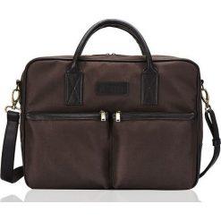 Solier Torba na ramię na laptopa Cidro brązowa. Brązowe torby na laptopa marki Solier. Za 149,00 zł.