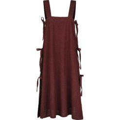 Leonardo Carbone Wikinger Überkleid Hildegard Sukienka bordowy. Czerwone sukienki na komunię Leonardo Carbone, m, bez rękawów, midi. Za 99,90 zł.