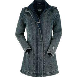 Rock Rebel by EMP Cadillac Ranch Kurtka damska niebieski. Niebieskie kurtki damskie Rock Rebel by EMP, xl, z aplikacjami. Za 259,90 zł.
