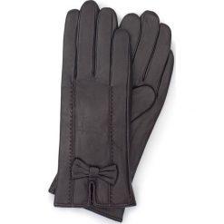 Rękawiczki damskie 39-6-536-BB. Brązowe rękawiczki damskie marki Wittchen, z polaru. Za 99,00 zł.