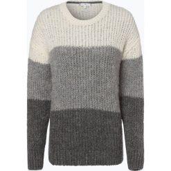 Tommy Hilfiger - Sweter damski z dodatkiem moheru, szary. Szare swetry klasyczne damskie TOMMY HILFIGER, xxl, z dzianiny. Za 599,95 zł.