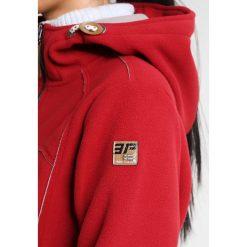 Icepeak TEGAN Kurtka z polaru carmine. Czerwone kurtki damskie softshell Icepeak, z materiału. W wyprzedaży za 209,30 zł.
