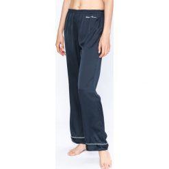 Emporio Armani - Spodnie piżamowe. Szare piżamy damskie Emporio Armani, l, z materiału. W wyprzedaży za 239,90 zł.