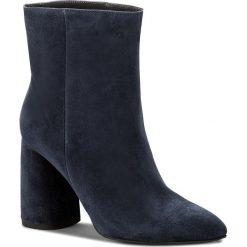 Botki EVA MINGE - Hellin 3F 18GR1372414ES 807. Niebieskie botki damskie na obcasie marki Eva Minge, ze skóry. W wyprzedaży za 359,00 zł.