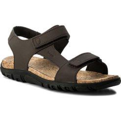Sandały męskie: Sandały GEOX – U S. Strada C U8224C 0009B C6027  Ebony