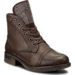 Botki JENNY FAIRY - WS16132-29 Brązowy. Brązowe buty zimowe damskie Jenny Fairy, ze skóry ekologicznej, na obcasie. W wyprzedaży za 65,00 zł.